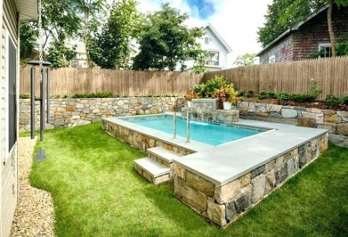 Affordable Backyard Pool Design Ideas To Try 12
