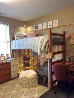 Beautiful Dorm Room Organization Ideas To Try Asap 01