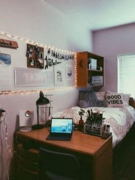 Beautiful Dorm Room Organization Ideas To Try Asap 26