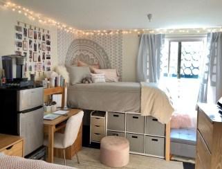 Beautiful Dorm Room Organization Ideas To Try Asap 42