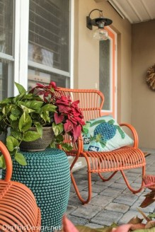 Best Colorful Porch Design Ideas That Looks Cool 09