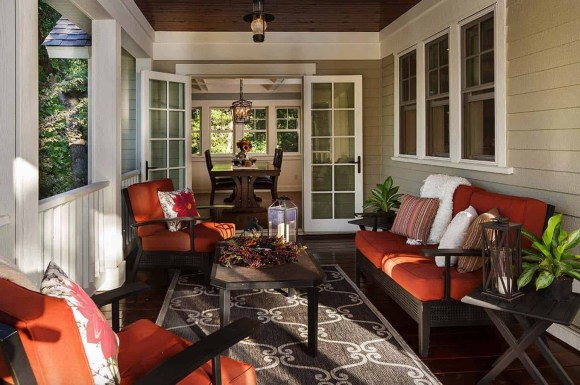 Best Colorful Porch Design Ideas That Looks Cool 11