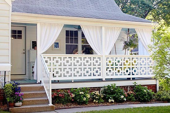 Best Colorful Porch Design Ideas That Looks Cool 34