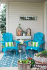 Best Colorful Porch Design Ideas That Looks Cool 41