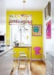 Best Yellow Accent Kitchens Ideas For You 06