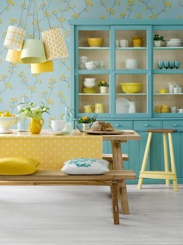 Best Yellow Accent Kitchens Ideas For You 20