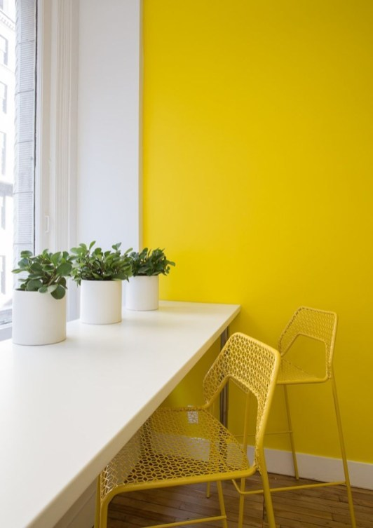 Best Yellow Accent Kitchens Ideas For You 33
