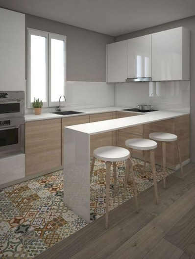 Cool Kitchens Design Ideas For Small Spaces 36