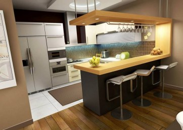 Cool Kitchens Design Ideas For Small Spaces 49