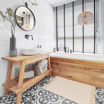 Excellent Wooden Bathroom Designs Ideas To Try 20