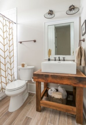 Excellent Wooden Bathroom Designs Ideas To Try 29