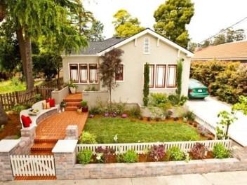 Newest Green Grass Design Ideas For Front Yard Garden 33