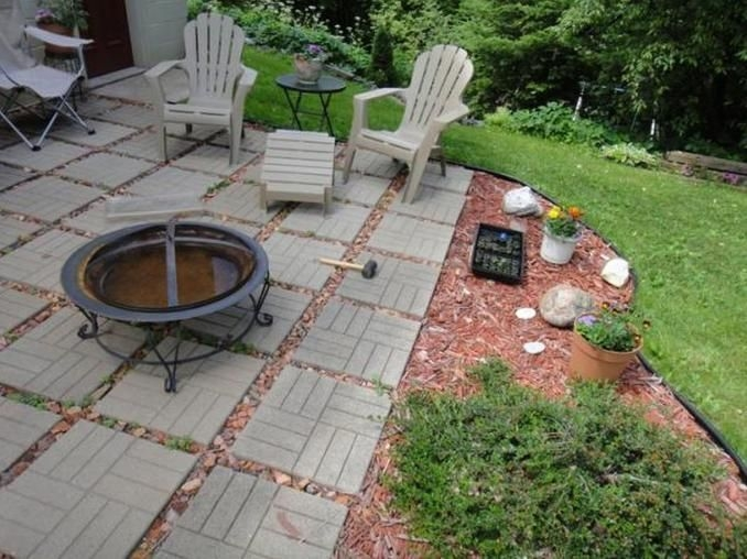 Smart Garden Patio Flooring Ideas To Try 34