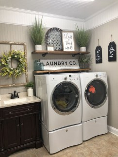 Trendy Small Laundry Room Design Ideas To Try Asap 02