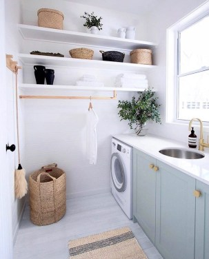 Trendy Small Laundry Room Design Ideas To Try Asap 33