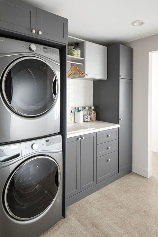Trendy Small Laundry Room Design Ideas To Try Asap 37