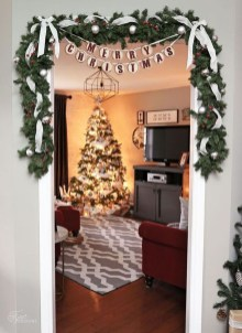 01Rustic Christmas Design Ideas For Your Apartment Décor To Try