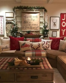 20Rustic Christmas Design Ideas For Your Apartment Décor To Try