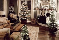 22Rustic Christmas Design Ideas For Your Apartment Décor To Try