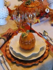Admiring White And Orange Pumpkin Centerpieces Ideas For Halloween 38
