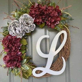 Captivating Diy Front Door Design Ideas For Special Christmas To Try 02
