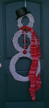 Captivating Diy Front Door Design Ideas For Special Christmas To Try 31