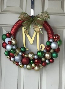 Captivating Diy Front Door Design Ideas For Special Christmas To Try 41