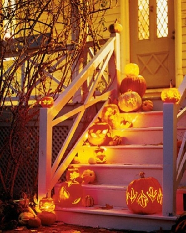 Casual Diy Outdoor Halloween Decor Ideas For Your Frontyard 35