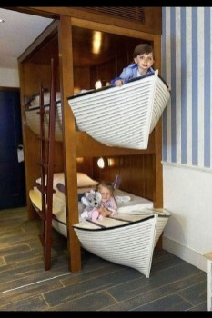 Charming Childrens Bedroom Resembles Design Ideas With A Boat 19