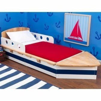 Charming Childrens Bedroom Resembles Design Ideas With A Boat 38