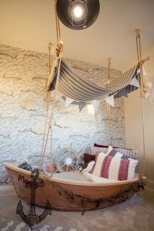 Charming Childrens Bedroom Resembles Design Ideas With A Boat 39