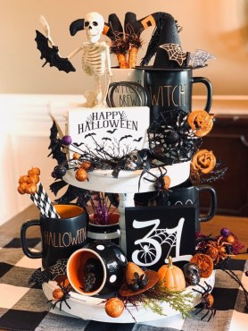 Chic Halloween Home Décor Ideas To Your Inspire You 07