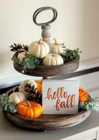 Creative Diy Decor Ideas To Welcome Autumn That Looks Cool 21