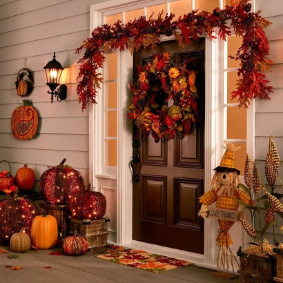 Creative Diy Decor Ideas To Welcome Autumn That Looks Cool 35