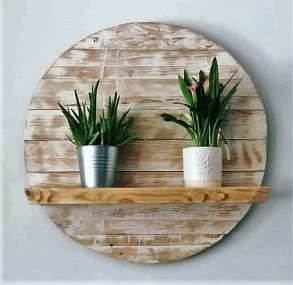 Cute Home Decor Ideas With Wooden Pallet That Looks Amazing 20