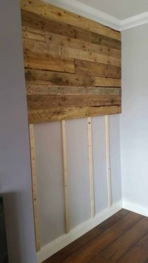 Cute Home Decor Ideas With Wooden Pallet That Looks Amazing 26