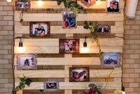 Cute Home Decor Ideas With Wooden Pallet That Looks Amazing 30