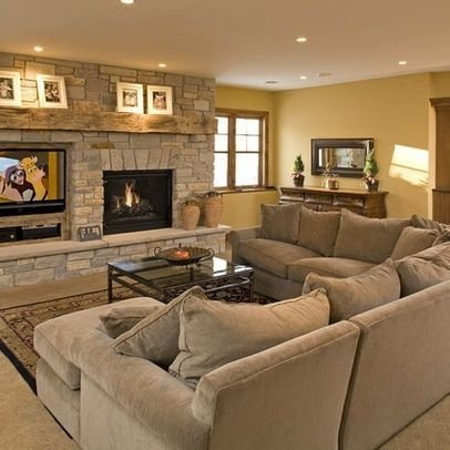 Delicate Living Room Design Ideas With Fireplace To Keep You Warm This Winter 10
