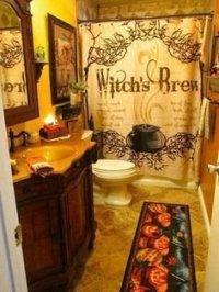Delightful Halloween Decorating Ideas For Your Bathroom 02