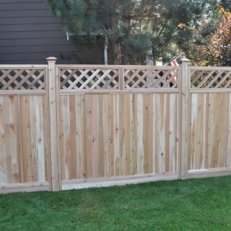 Extraordinary Front Yard Fence Design Ideas With Wood Material For Small House 37