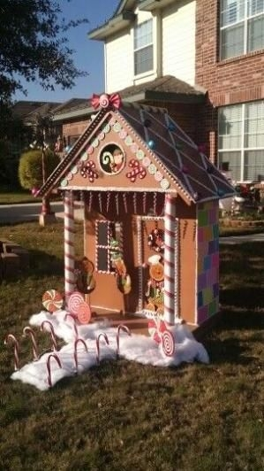 Fantastic Diy Gingerbread House Ideas For Your Décor To Try Asap 03
