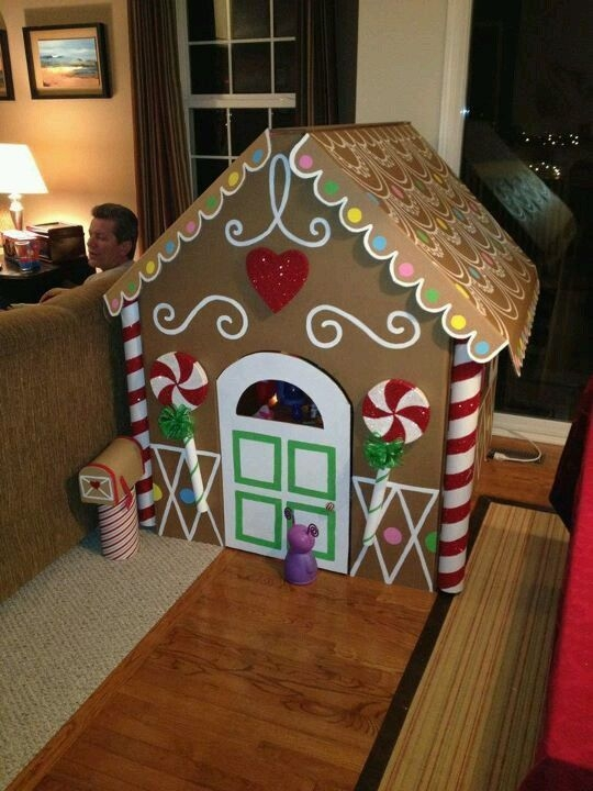 Fantastic Diy Gingerbread House Ideas For Your Décor To Try Asap 48