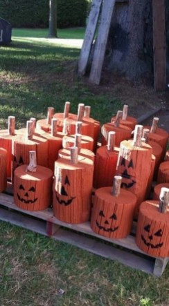 Favored Halloween Diy Pallet Outdoor Decor Ideas To Inspire You 35