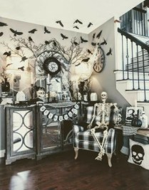 Relaxing Diy Halloween Living Room Decoration Ideas To Try 01