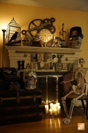 Relaxing Diy Halloween Living Room Decoration Ideas To Try 34