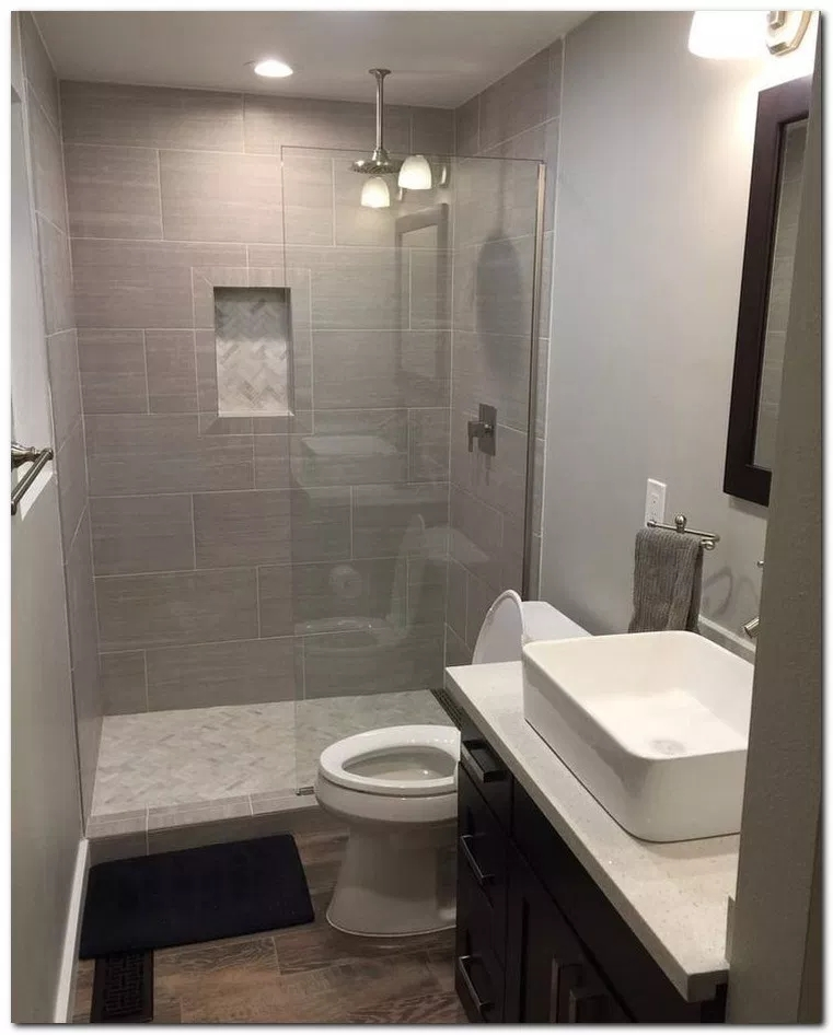 Unrdinary Small Bathroom Design Remodel Ideas With Awesome Tiles To Try 15
