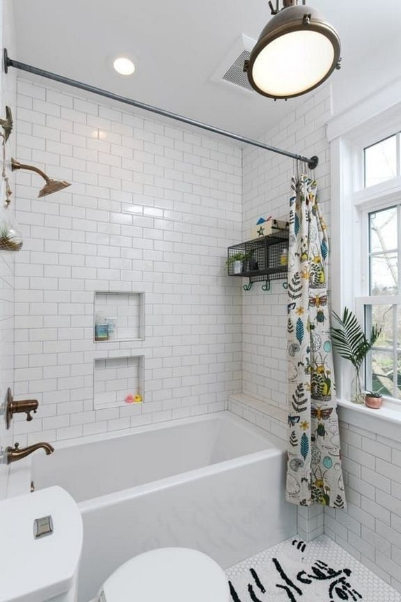 Unrdinary Small Bathroom Design Remodel Ideas With Awesome Tiles To Try 25