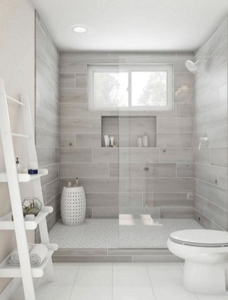Unusual Remodel Design Ideas To Be Modern Farmhouse Bathroom 15