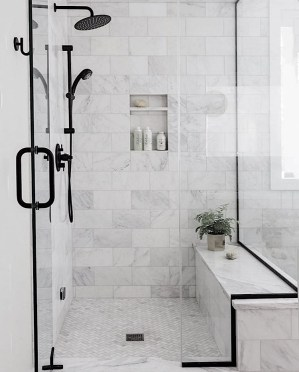 Unusual Remodel Design Ideas To Be Modern Farmhouse Bathroom 45