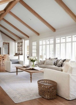Beautiful Farmhouse Living Room Makeover Decor Ideas To Try Asap 18